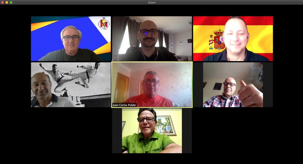 Reunión Online Comisión Nacional de Hapkido RFET
